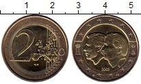 Изображение Монеты Европа Бельгия 2 евро 2005 Биметалл UNC