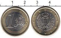 Изображение Монеты Европа Сан-Марино 1 евро 2009 Биметалл UNC