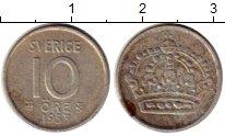 Изображение Монеты Европа Швеция 10 эре 1953 Биметалл XF