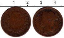 Изображение Монеты Индия 1/2 анны 1845 Медь VF-