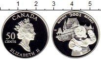 Изображение Монеты Канада 50 центов 2001 Серебро Proof