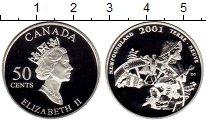 Изображение Монеты Северная Америка Канада 50 центов 2001 Серебро Proof