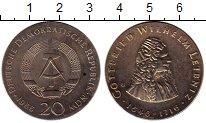 Изображение Монеты Германия ГДР 20 марок 1966 Серебро UNC-
