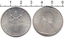 Изображение Монеты Европа Ватикан 500 лир 1964 Серебро UNC