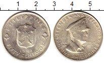 Изображение Монеты Азия Филиппины 50 сентаво 1947 Серебро UNC-