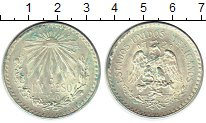 Изображение Монеты Северная Америка Мексика 1 песо 1940 Серебро UNC-