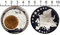 Изображение Монеты Африка Либерия 1 доллар 2002 Посеребрение Proof