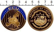 Изображение Монеты Либерия 5 долларов 2003 Латунь Proof
