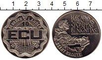 Изображение Монеты Нидерланды 10 экю 1990 Медно-никель UNC