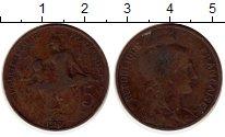 Изображение Монеты Франция 5 сантим 1913 Бронза VF