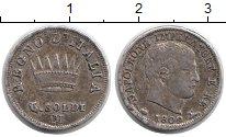 Изображение Монеты Италия 5 сольди 1809 Серебро XF