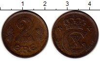 Изображение Монеты Европа Дания 2 эре 1920 Бронза XF