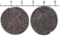 Изображение Монеты Европа Утрехт 1/10 талера 1571 Серебро VF
