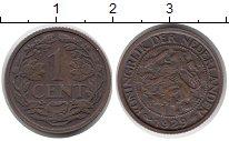 Изображение Монеты Европа Нидерланды 1 цент 1929 Бронза XF