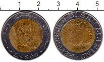 Изображение Монеты Сан-Марино 500 лир 1989 Биметалл UNC- История