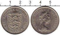 Изображение Монеты Остров Джерси 10 пенсов 1975 Медно-никель UNC-