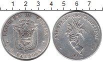 Изображение Монеты Северная Америка Панама 5 бальбоа 1972 Серебро XF-