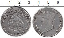 Изображение Монеты Боливия 4 соля 1854 Серебро VF