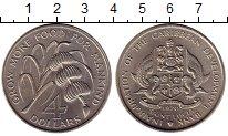 Изображение Монеты Сент-Люсия 4 доллара 1970 Медно-никель UNC