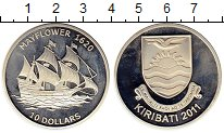 Изображение Монеты Австралия и Океания Кирибати 10 долларов 2011 Серебро Proof