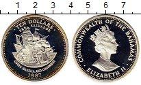 Изображение Монеты Северная Америка Багамские острова 10 долларов 1987 Серебро Proof-