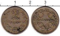 Изображение Монеты Южная Америка Колумбия 2 сентаво 1921 Медно-никель XF-