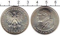 Изображение Монеты Польша 1000 злотых 1983 Серебро UNC