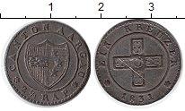 Изображение Монеты Швейцария Аргау 2 1/2 раппа 1831 Серебро XF