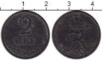 Изображение Монеты Дания 2 эре 1969 Цинк XF