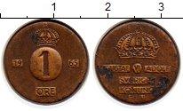 Изображение Монеты Европа Швеция 1 эре 1965 Бронза XF