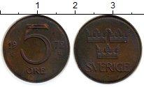 Изображение Монеты Швеция 5 эре 1972 Бронза XF