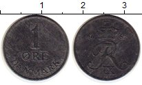 Изображение Монеты Европа Дания 1 эре 1962 Цинк XF