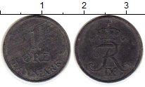 Изображение Монеты Дания 1 эре 1965 Цинк XF