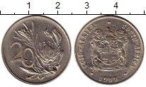 Изображение Монеты Африка ЮАР 20 центов 1988 Медно-никель XF
