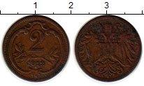 Изображение Монеты Европа Австрия 2 геллера 1912 Бронза XF