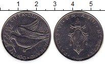 Изображение Монеты Ватикан 100 лир 1970 Сталь UNC-
