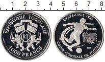 Изображение Монеты Африка Того 1000 франков 2002 Серебро Proof