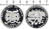 Изображение Монеты Африка Бенин 1000 франков 2001 Серебро Proof