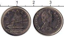 Изображение Монеты Канада 10 центов 1981 Медно-никель XF