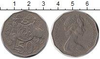 Изображение Монеты Австралия 50 центов 1976 Медно-никель XF