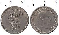Изображение Монеты Дания 1 крона 1967 Медно-никель XF