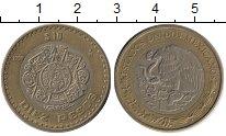 Изображение Монеты Мексика 10 песо 1998 Биметалл XF Индейская  культура