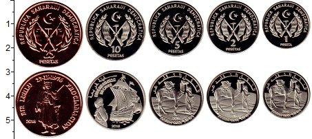 Изображение Наборы монет Африка Сахара Сахара 2013 2018  UNC-