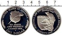 Изображение Мелочь Северная Америка США 1 доллар 1997 Серебро Proof