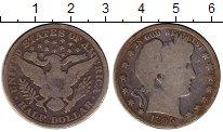 Изображение Монеты Северная Америка США 1/2 доллара 1895 Серебро VF