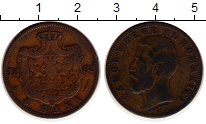 Изображение Монеты Румыния 5 бани 1883 Медь VF