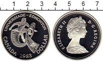 Изображение Монеты Канада 1 доллар 1983 Серебро Proof
