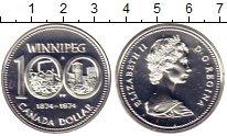 Изображение Монеты Северная Америка Канада 1 доллар 1974 Серебро UNC
