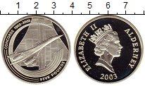 Изображение Монеты Великобритания Олдерни 5 фунтов 2003 Серебро Proof-