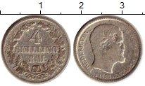 Изображение Монеты Европа Дания 4 скиллинга 1854 Серебро VF